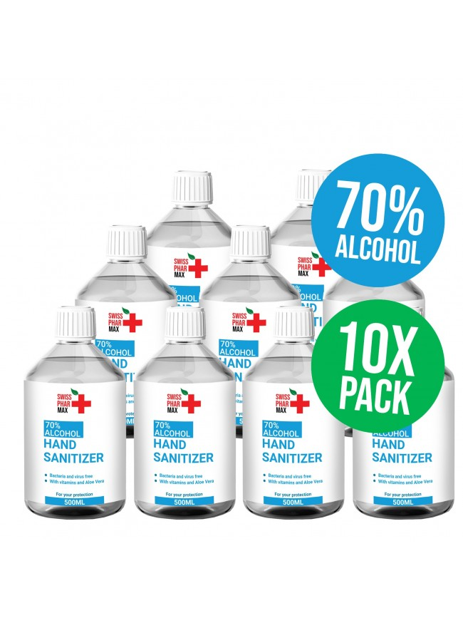 Buy 70% Hand Sanitiser Refill-Midi and protect yourself from