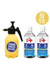 Buy 70% Surface Sanitiser Kit 2L and protect yourself from