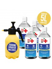 Buy 70% Surface Sanitiser Kit 5L and protect yourself from