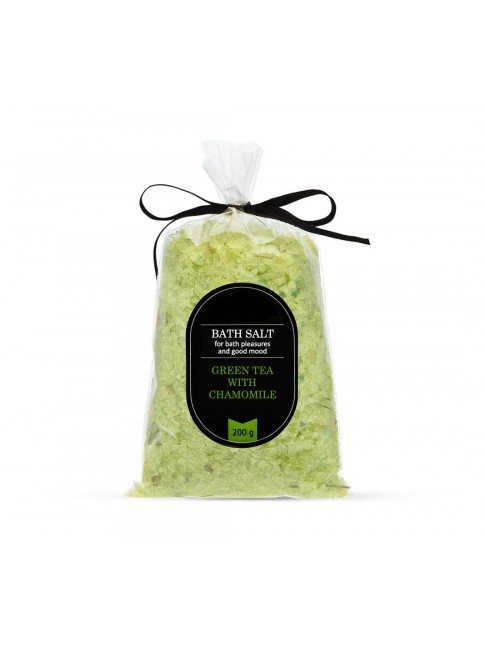 "Buy Bath salt ""Green tea with chamomile"" and protect yourself"