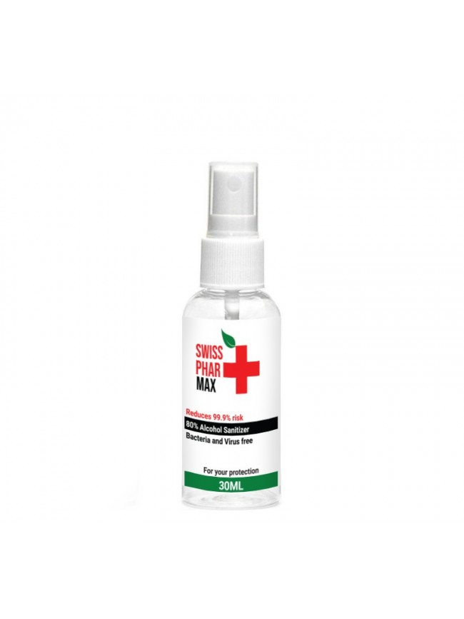 Buy Alcohol Sanitiser 30ml Spray and protect yourself from