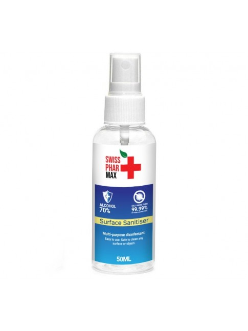 Buy 70% Surface Sanitiser Spray 50ml and protect yourself from
